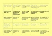 100 talking points - conversation cards