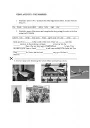 English Worksheets: Movie activity - Just Married