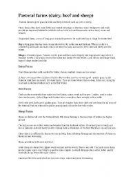 English Worksheets: Pastoral farms