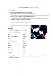 English Worksheets: EMO websearch