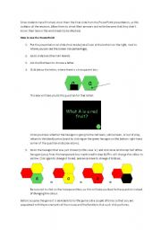 English Worksheet: Blockbusters Powerpoint Explanation