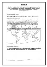 Printables Pearl Harbor Worksheet english teaching worksheets films baraka