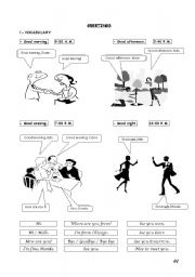 English Worksheets: Beginners - Basics