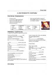 English Worksheets: Everything - Alanis Morissette