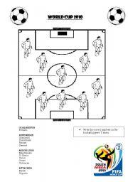 English Worksheet: WORLD CUP