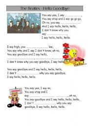 the Beatles - song - hello goodbye