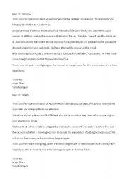 English Worksheets: Business correspondence