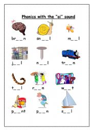 English worksheet: Phonics with the \