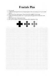 English Worksheets: Fractals Plus