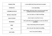 English Worksheets: Expressions and idioms matching game