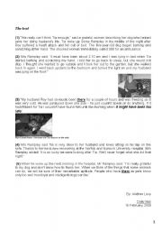 English Worksheet:  1st form full term test n�3