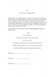 English Worksheets: Poetic devices