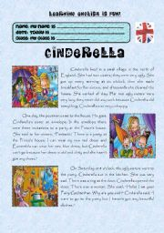 PLEASE, TELL ME A TALE – CINDERELLA BY AGUILA PART 1