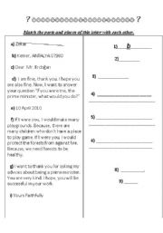 English Worksheets: writing-apprropriation stage
