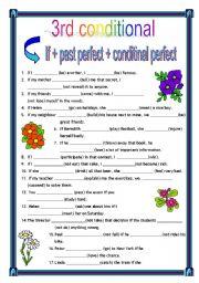 English Worksheet: third conditional + key (09.05.10)