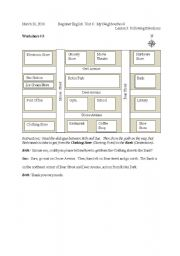 following directions worksheet 3 4 5. Black Bedroom Furniture Sets. Home Design Ideas
