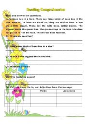 ... worksheets Reading prehension English Reading Passages For Grade 8