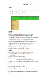 English Worksheets: Unit 12- New Cutting Edge