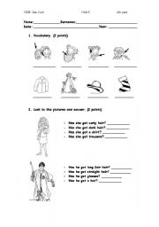English Worksheets: fisical appearance