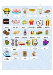 Grocery List Activity for Preschoolers with Free Printable