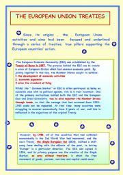 THE EUROPEAN UNION TREATIES.