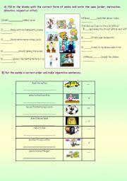 English Worksheet: IMPERATIVES (PART 3)