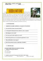 English Worksheets: HACHIKO: A DOG�S STORY VIDEO ACTIVITY