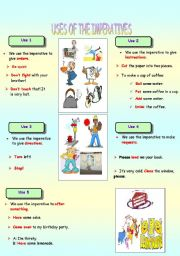 English Worksheet: IMPERATIVES (PART 2)