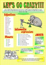 English Worksheets: TERMS FOR