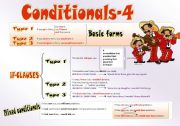 English Worksheets: CONDITIONALS (Part 4)