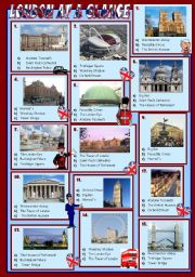 English Worksheets: LONDON AT A GLANCE ( QUIZ + KEY )