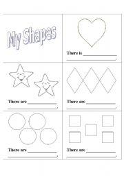 shape color and number booklet esl worksheet by milie me 11. Black Bedroom Furniture Sets. Home Design Ideas