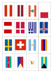 Word Flags 3_flashcards
