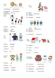English Worksheet: Degrees of comparisons of adjectives