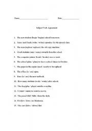 subject verb agreement worksheets first grade subject verb agreement grade 3 worksheet free. Black Bedroom Furniture Sets. Home Design Ideas