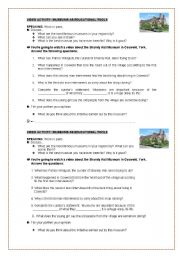 English Worksheet: Video activity: Museums as educational tools (it includes video link+transcript+key)