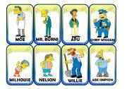 English Worksheet: Simpsons Card Game (2/2)