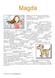 English Worksheets: Magda