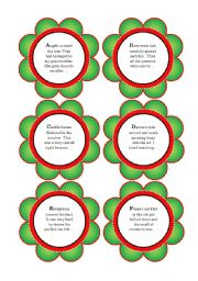 Christmas Story Starter Cards (26 Story Starters and 4 Topic Ideas = 30 Cards)