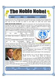 The Noble Nobel Peace Prize - Passives - Heroes/Idols/Role Models/Legends