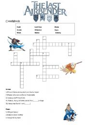 English worksheet: Avatar Movie (A)