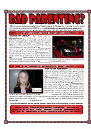 Bad Parenting? - Modals of Obligation/Necessity/Permission - Kids and Parenting