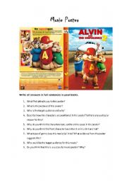 alvin and the chipmunks 2 movie poster