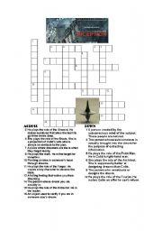 Inception Crossword