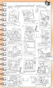 English Worksheets: My classmates� album
