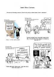 English Worksheet: Jamie Oliver�s Food initiative