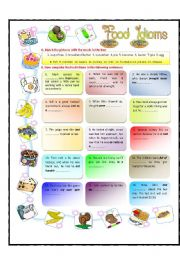 Food Idioms - Part1