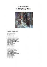 A Christmas Carol simple  and short play script