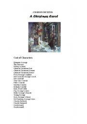 A Christmas Carol simple and short play script