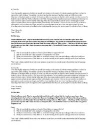 English Worksheets: Formal vs informal writing